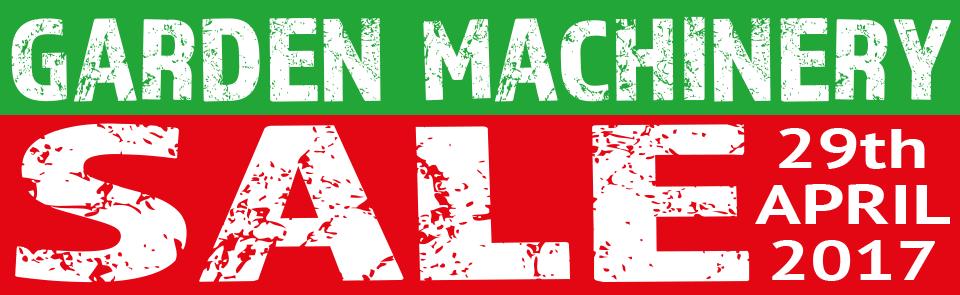 Garden Machinery Sale 2017