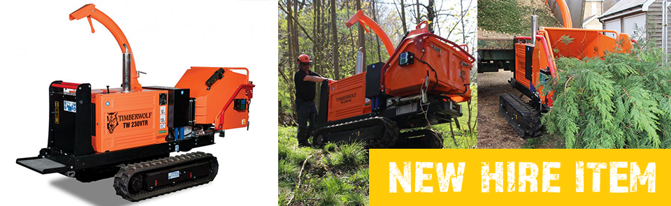Tracked Chipper – New Hire Item