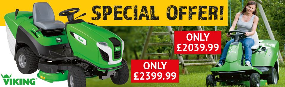 Viking Ride-on Mower Offer