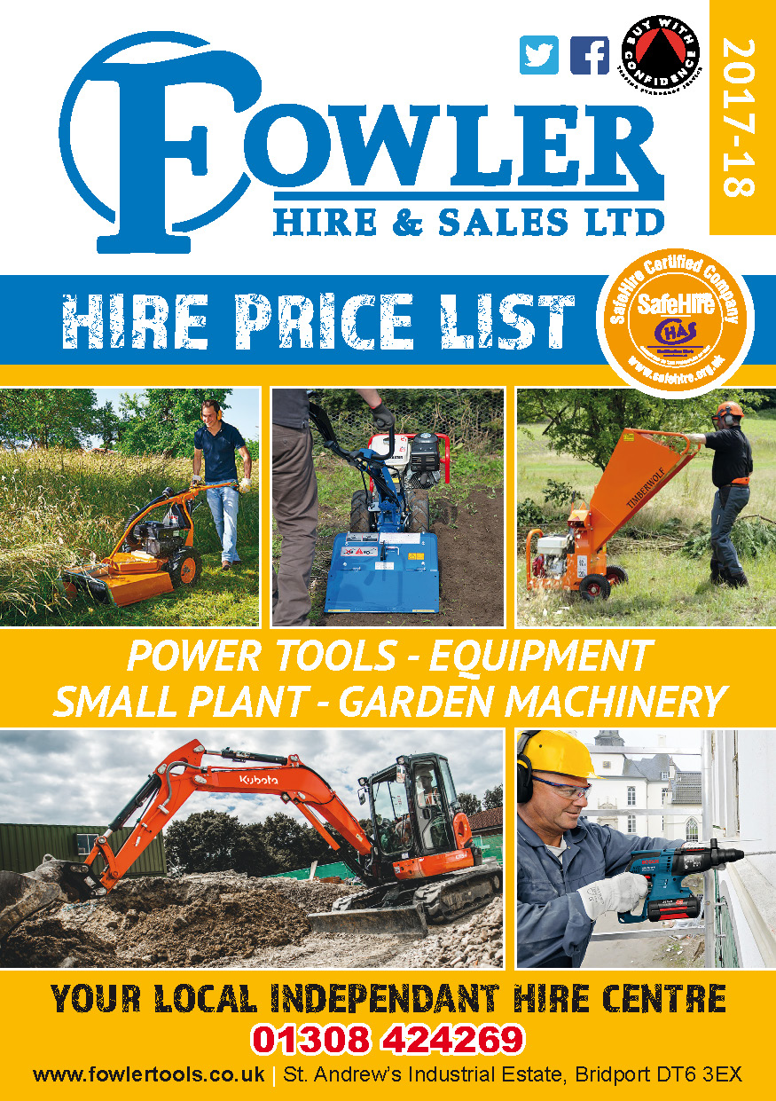 Hire Price List 2017-18