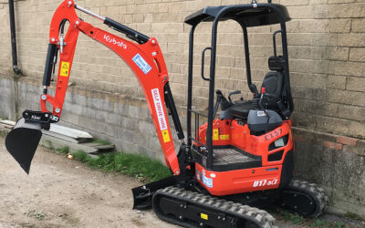 New Zero Tail Swing 1.5 Tonne Excavator