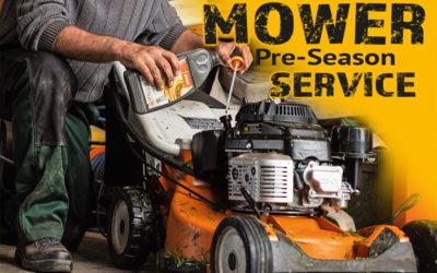 Mower Pre Season Service