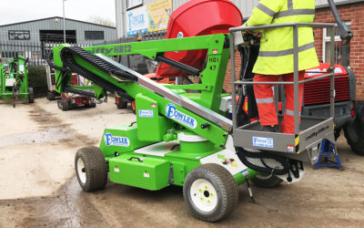 New Nifty HR12 Self-Propelled Boom Lift